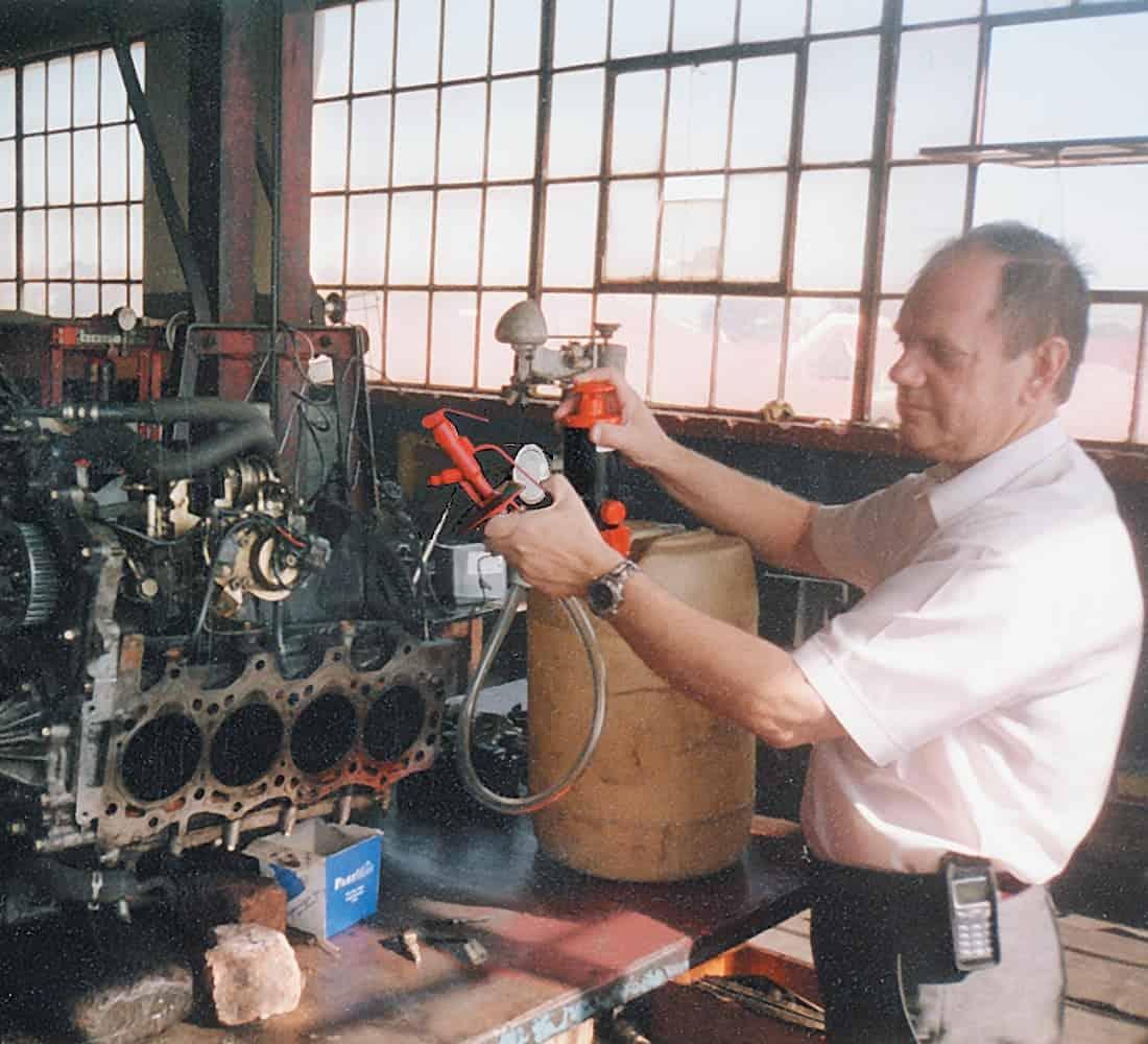 Engine_degreasing