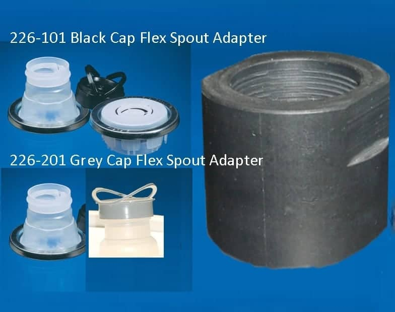 GT Flex Spout adapters