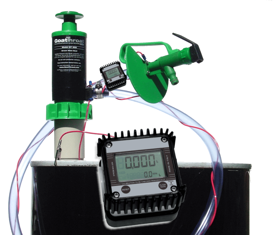 GT-M-N Viton System with meter
