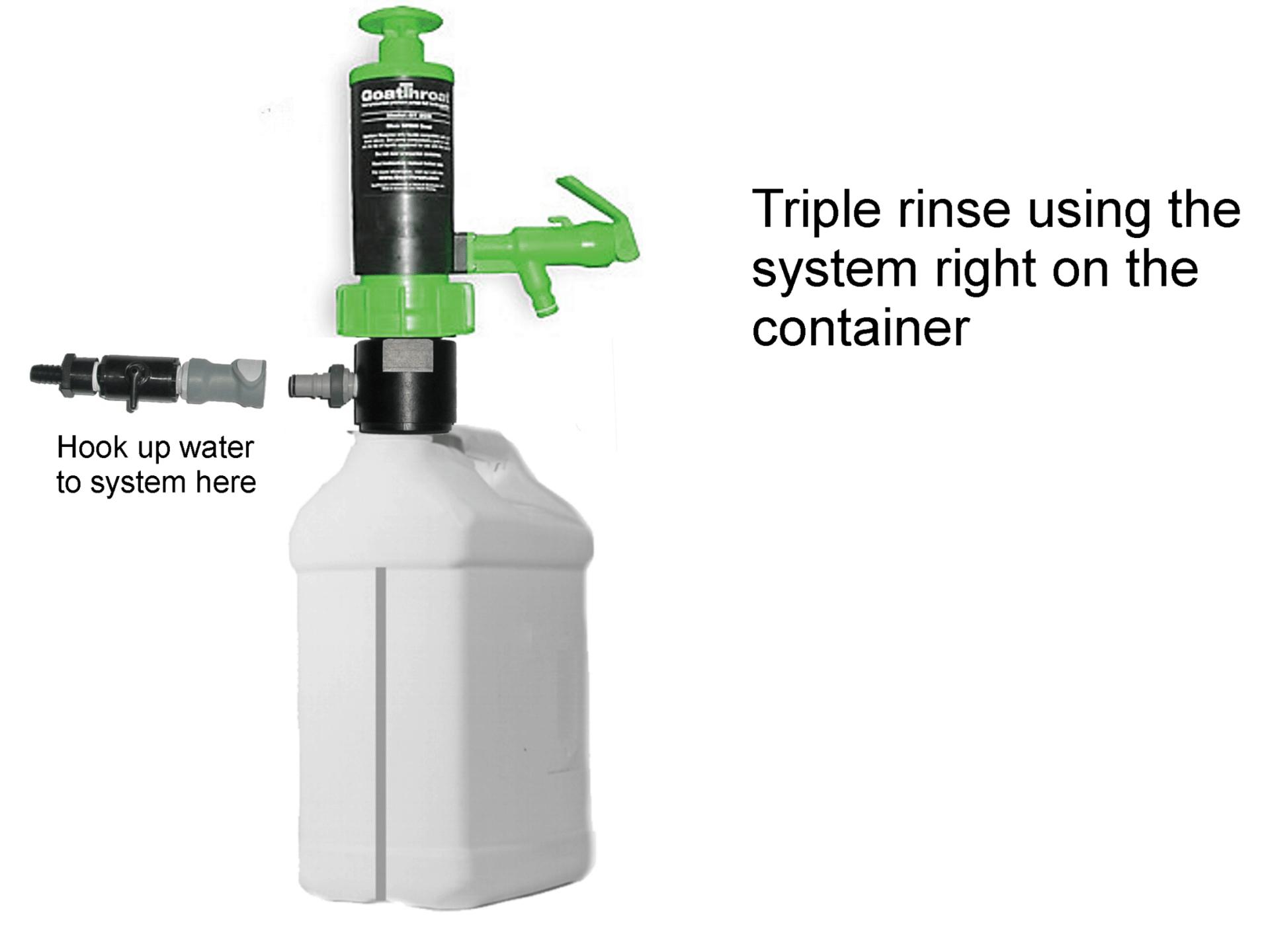 GT Triple Rinse